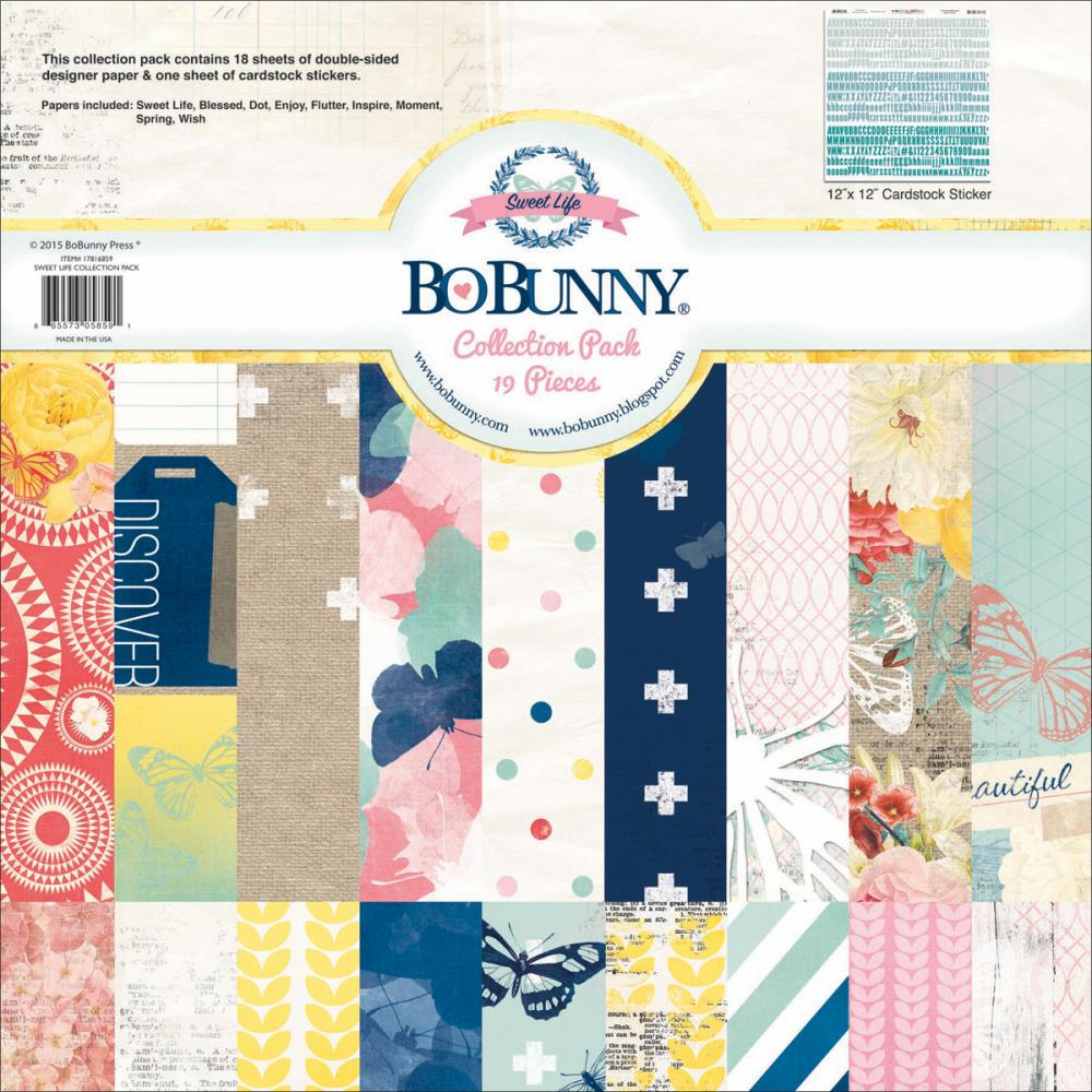 Bo Bunny - Sweet Life - Collection Pack 12x12 (E*)
