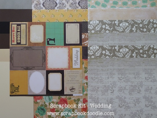 Cardstocks & Patterned Papers (double-sided)