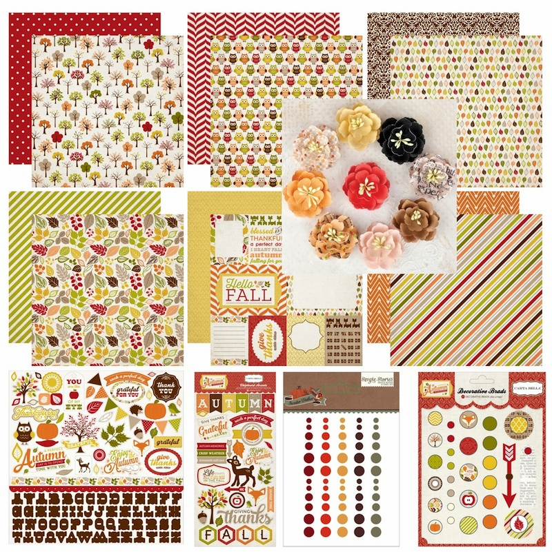 Carta Bella - A Perfect Autumn Collection - Bundle (S/O)