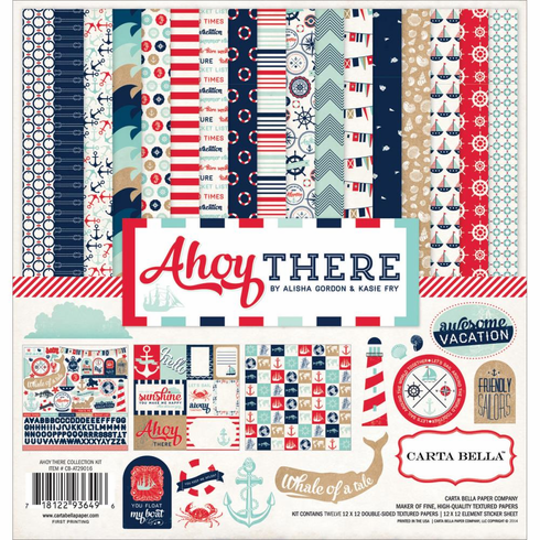 Carta Bella - Ahoy There - Collection Kit 12x12 - S/O