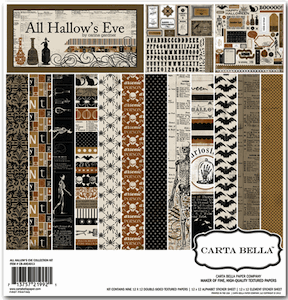 Carta Bella - All Hallow's Eve - Collection Kit 12x12 - S/O