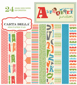 Carta Bella - Alphabet Junction - Paper Pad 6x6 (S/O)