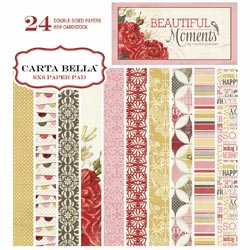 Carta Bella - Beautiful Moments - Paper Pad 6x6 (S/O)