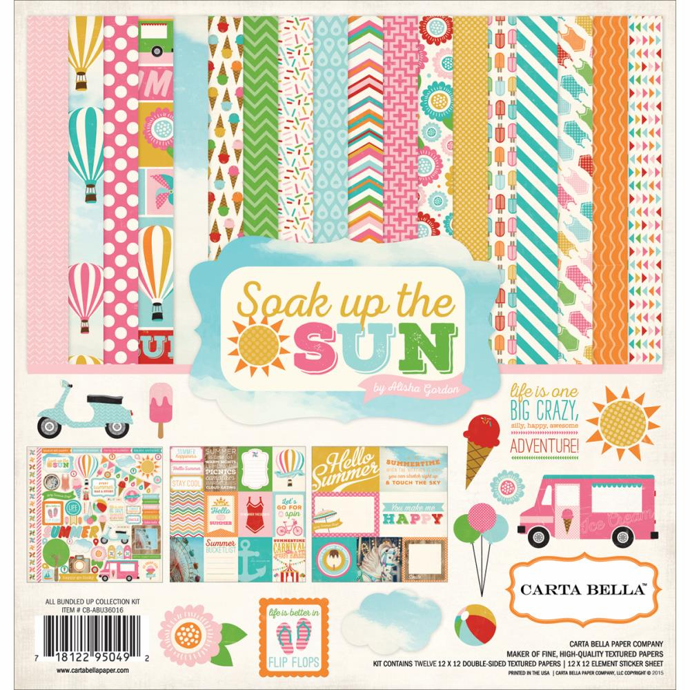 Carta Bella Soak Up The Sun Collection Kit 12x12 (S/O)