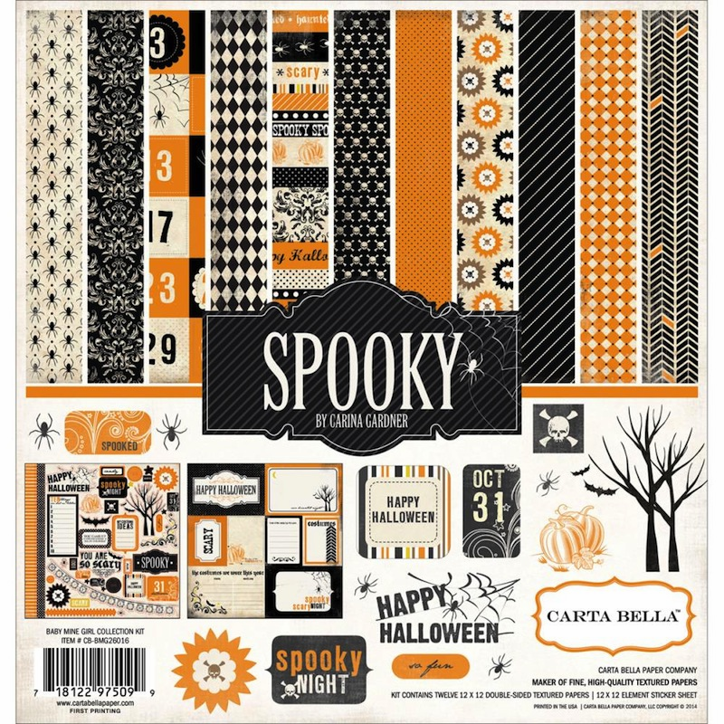Carta Bella - Spooky - Collection Kit 12x12 (S/O)