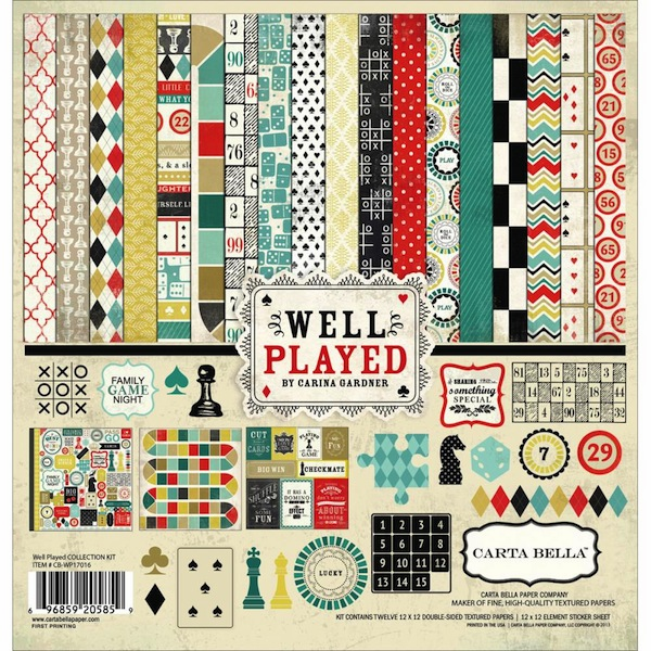 Carta Bella - Well Played Collection Kit 12x12 (S/O)
