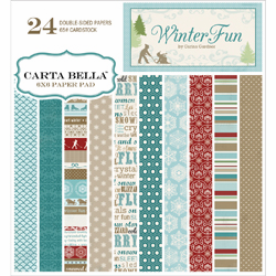Carta Bella - Winter Fun - Paper Pad 6x6 - S/O