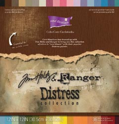 "Core'dinations Tim Holtz Cardstock - Distress Collection 12""X12"" (S/O)"