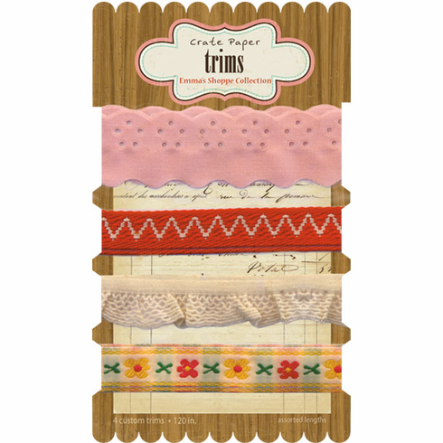 Crate Paper: Emma's Shoppe - Trims