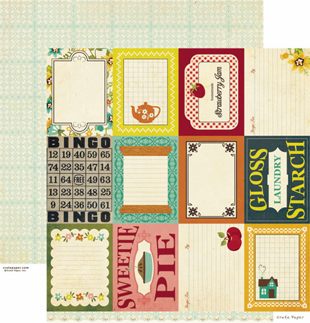 Crate Paper: Farmhouse - Accent Cuts