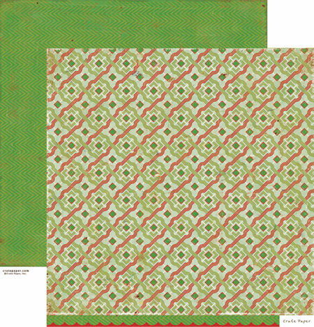Crate Paper: Peppermint - Mint