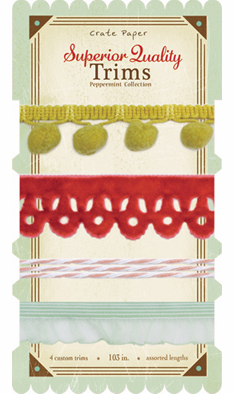 Crate Paper - Peppermint - Trims