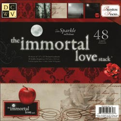 "Die Cuts With A View: The Immortal Love - Paper Stack 12""X12"" (S/O)"