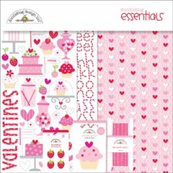 "Doodlebug Sweet Cakes Essentials Page Kit 12""X12"" (S/O)"