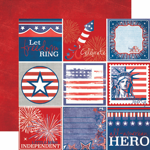 Echo Park Paper: 4th Of July - Journaling - S/O
