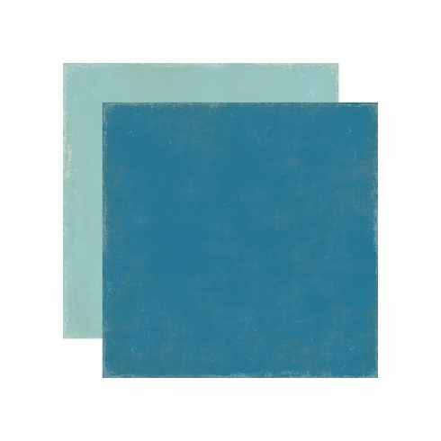 Echo Park Paper - For The Record 2 Documented - Distressed Dark Blue/Light Blue