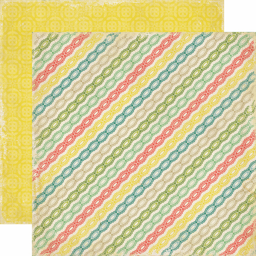 Echo Park Paper: For The Record - Lace Stripes