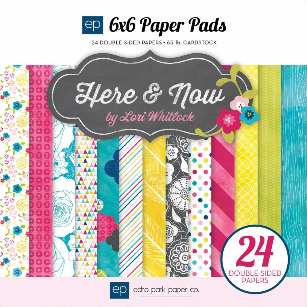Echo Park Paper - Here & Now - Paper Pad 6x6 - S/O
