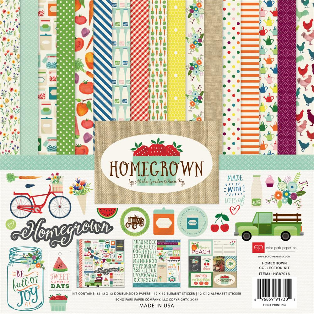 Echo Park Paper Homegrown Collection Kit 12x12 (S/O)