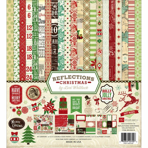 Echo Park Paper - Reflections Christmas - Collection Kit 12x12 - S/O