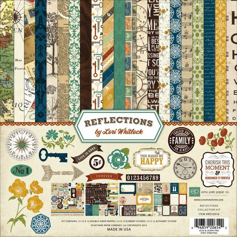 Echo Park Paper - Reflections - Collection Kit 12x12 (S/O)