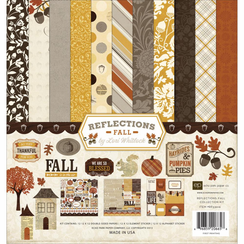 "Echo Park Paper - Reflections Fall - Collection Kit 12""X12"" (S/O)"