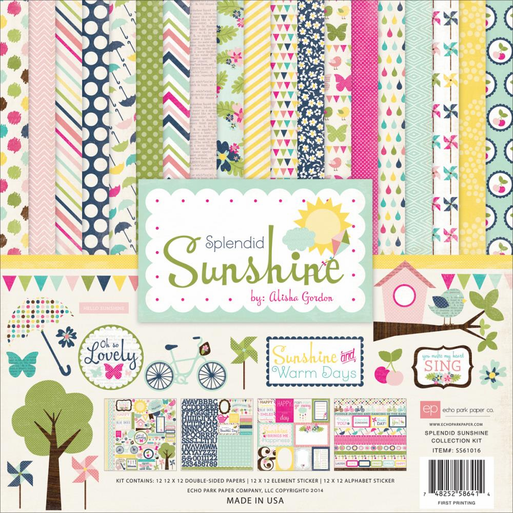Echo Park Paper - Splendid Sunshine - Collection Kit 12x12 (S/O)