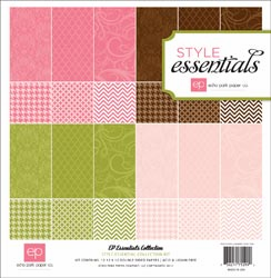 Echo Park Paper: Style Essentials - Runway Collection Kit 12x12 (S/O)