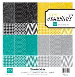 Echo Park Paper: Style Essentials - Upscale Collection Kit 12x12 (S/O)