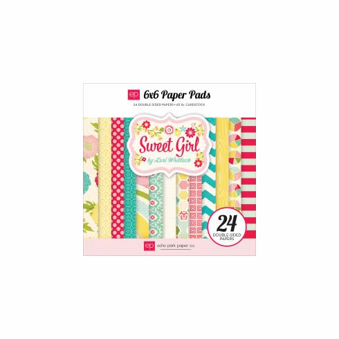 Echo Park Paper - Sweet Girl - Paper Pad 6x6 - S/O