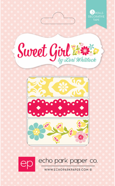 Echo Park Paper - Sweet Girl - Washi Tape