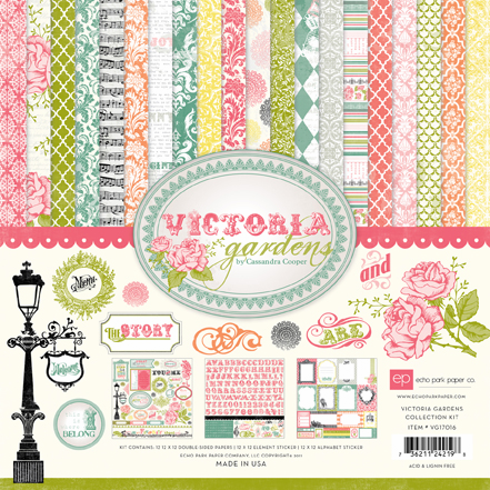 Echo Park Paper: Victoria Garden - Collection Kit 12x12 (S/O)