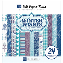 Echo Park Paper - Winter Wishes - Paper Pad 6x6 - S/O