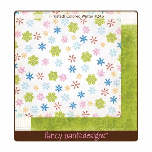 Fancy Pants: Frosted - Colored Winter - S/O