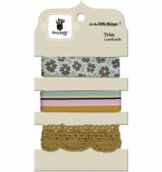 Fancy Pants: It's The Little Things - Ribbon & Trim Carded