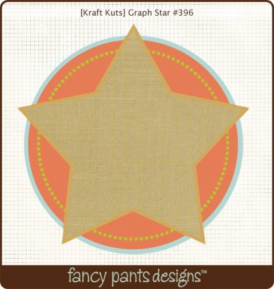 Fancy Pants - Kraft Kuts - That Boy  Graph Star