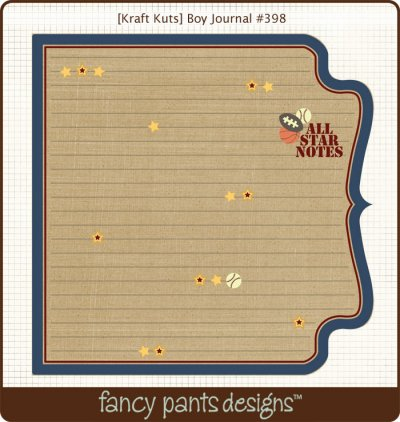 Fancy Pants - Kraft Kuts - That Boy Journal