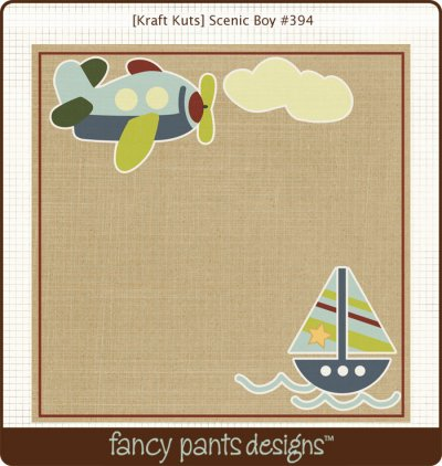 Fancy Pants: Kraft Kuts - That Boy Scenic Boy