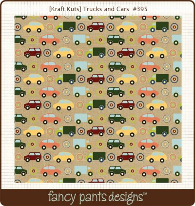 Fancy Pants - Kraft Kuts - That Boy Trucks and Cars