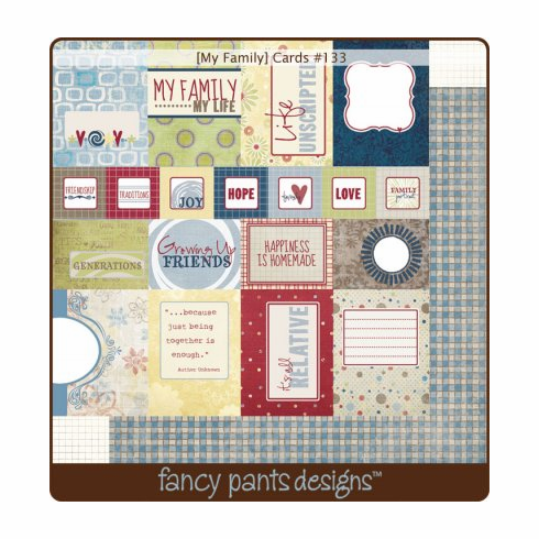 Fancy Pants: My Family - Cards (S/O)