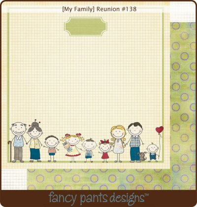 Fancy Pants: My Family - Reunion