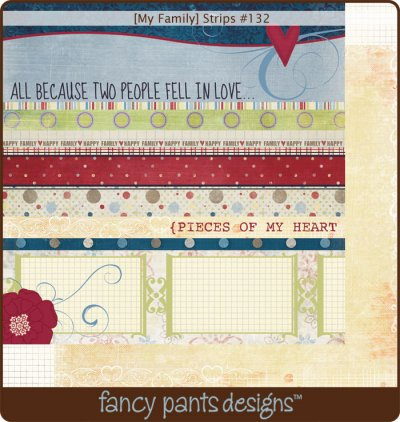 Fancy Pants: My Family - Strips
