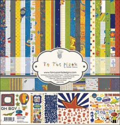 """Fancy Pants: To The Moon - Paper Kit 12""""X12"""" - S/O"""