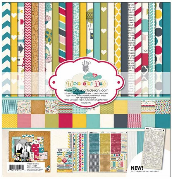 Fancy Pants - Wonderful Day Collection Kit 12x12