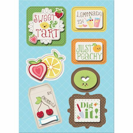 Imaginisce: Berrylicious - Sweet & Tart Sticker Stackers