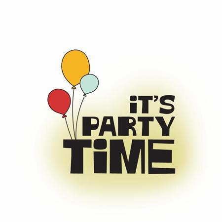 Imaginisce: Birthday Bash Snag 'Em Stamp - Time to Party (S/O)
