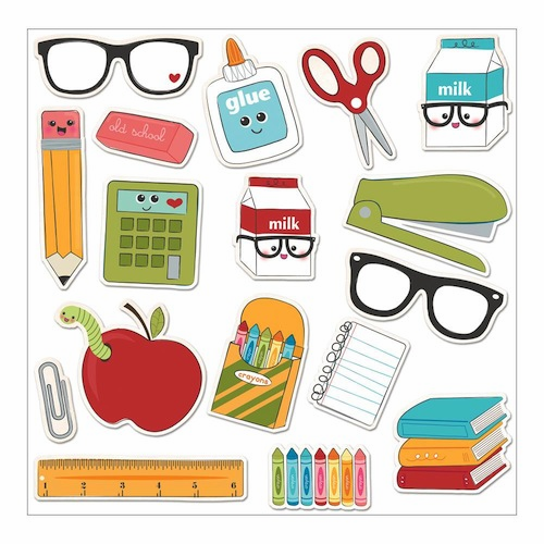Imaginisce - Geek Is Chic Die-Cuts - Class Act Icon
