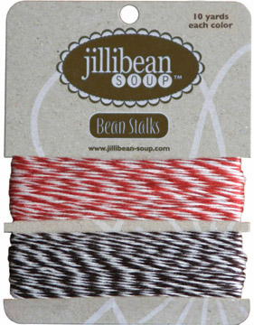 Jillibean Soup: Baker's Twine - Red/Brown