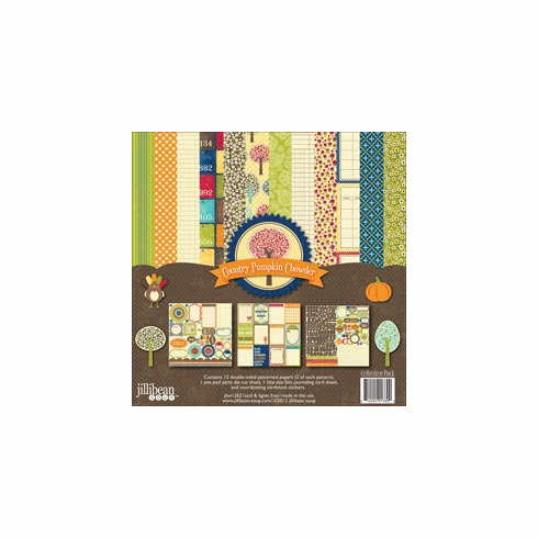 Jillibean Soup - Country Pumpkin Chowder - Collection Pack 12x12 - S/O