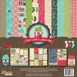 Jillibean Soup - Winter Tortellini/Spinach Soup - Collection Pack 12x12 - S/O